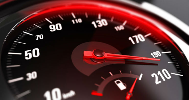 car speed